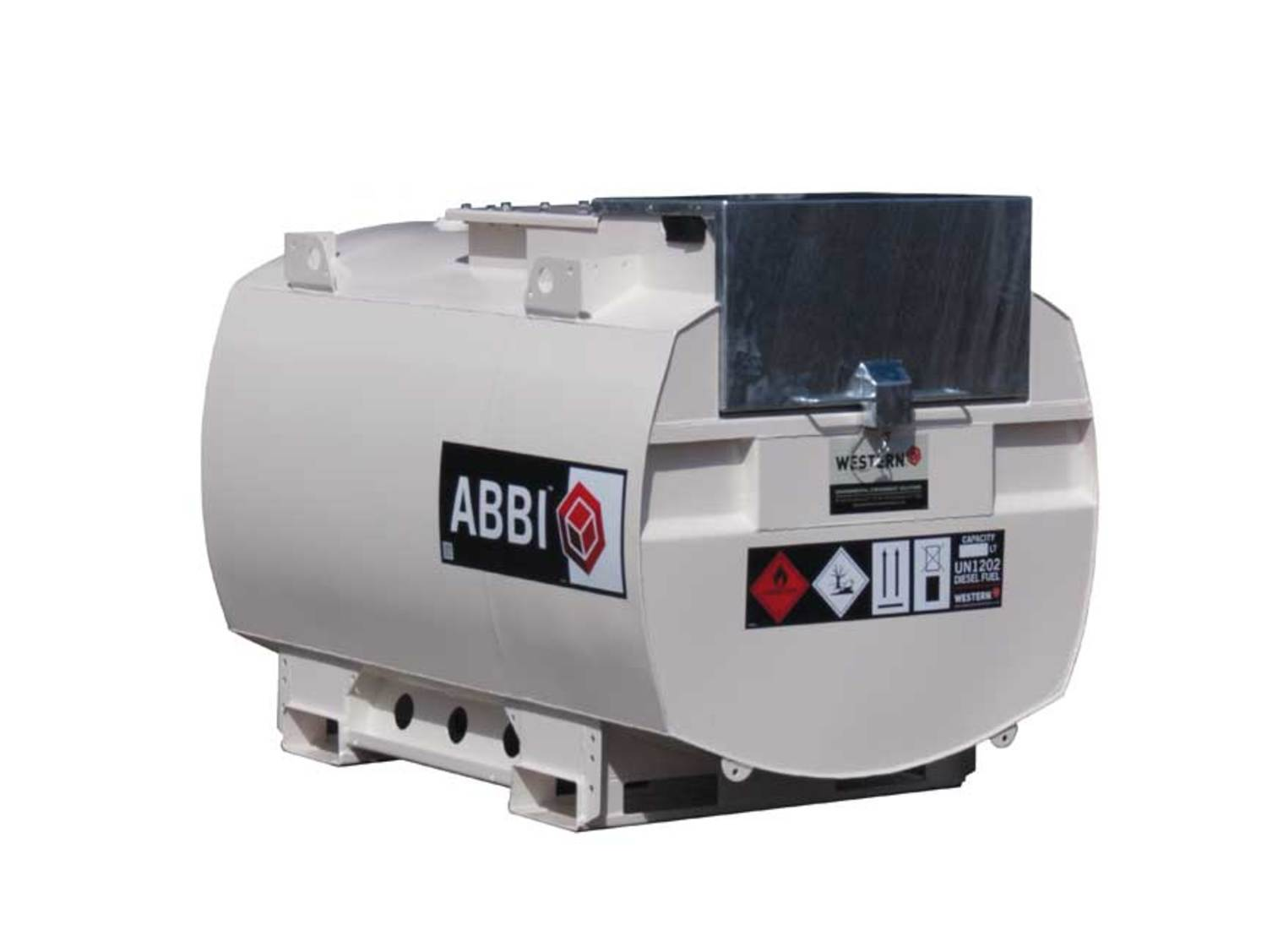 Abbi H20ART-EU(W) Mobile Bunded Steel Fuel Bowser For Highway Tow Cut Out