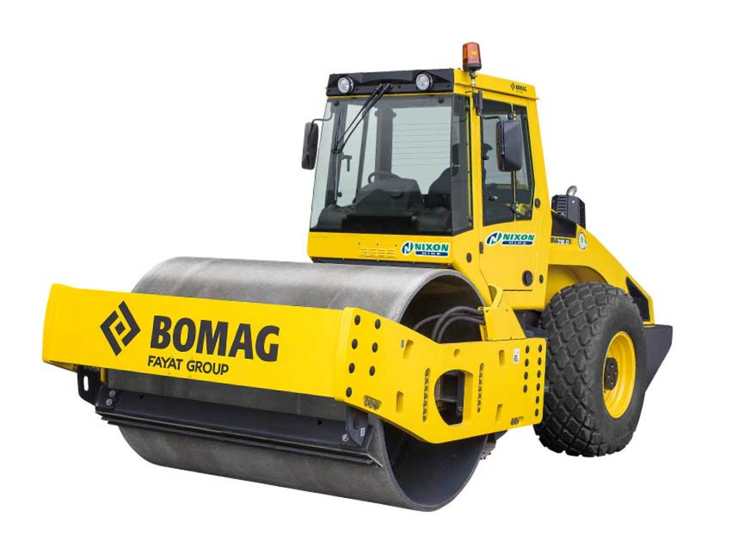 Bomag BW213 Single Drum Ride On Roller Cut Out