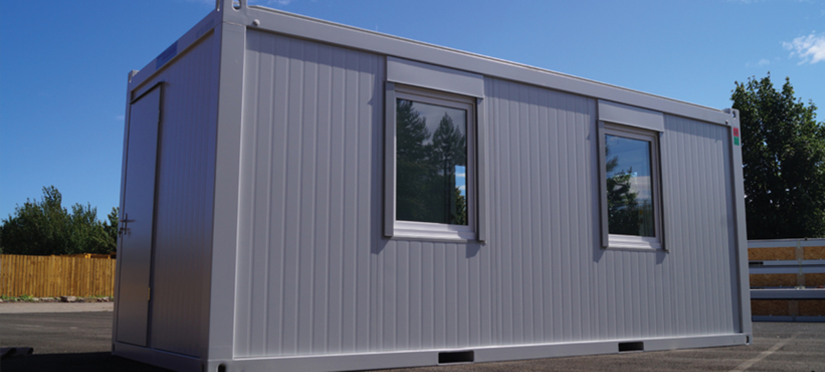 Example Set Up Of Containex Modular Building Offering Spacious Accommodation