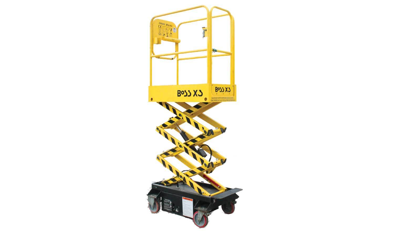Electric Push Around Vertical Lift Model Cut Out