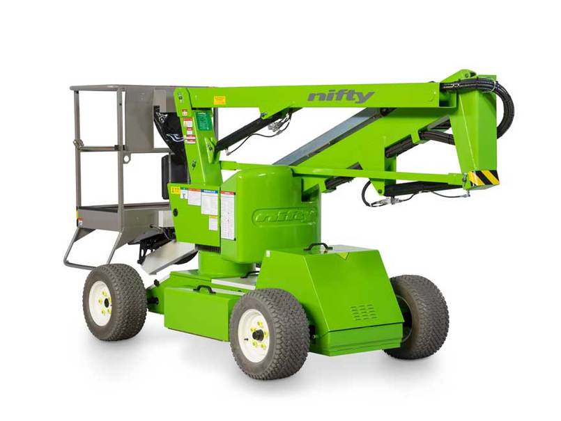 Nifty Articulating Boom Lift Cut Out