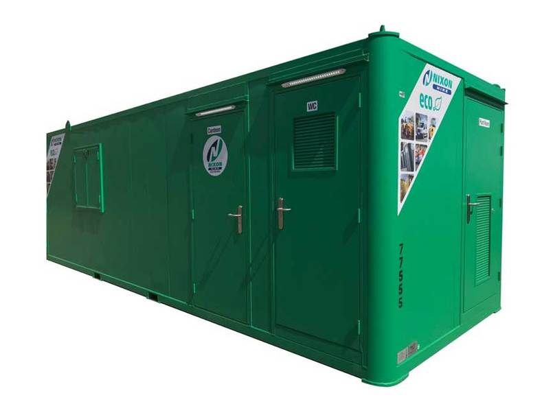 Welfare Unit 22 ECO Cabin With No Background