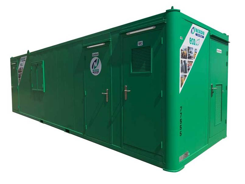 Welfare Unit 28 ECO Cabin With No Background