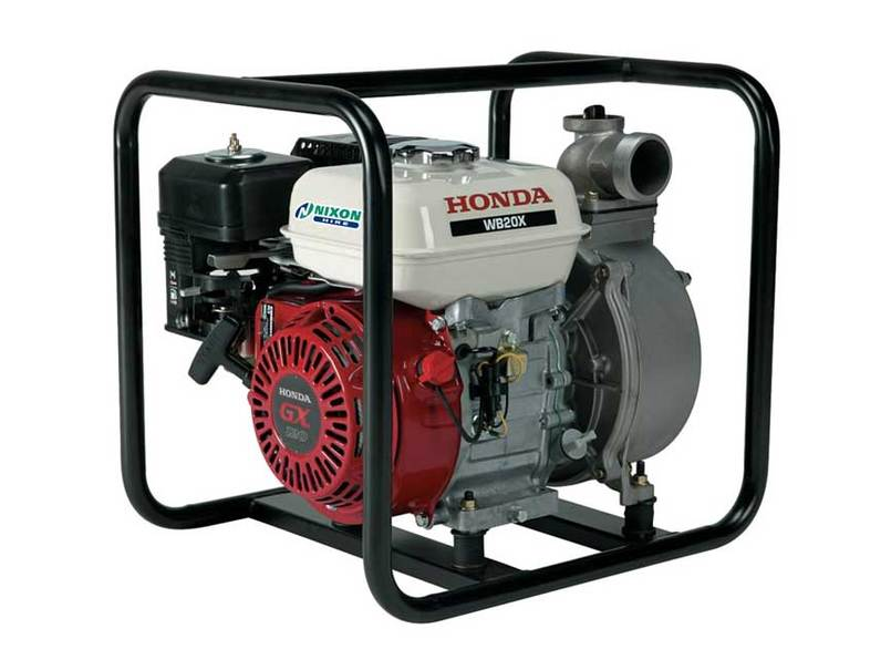 3 inch water pump hire