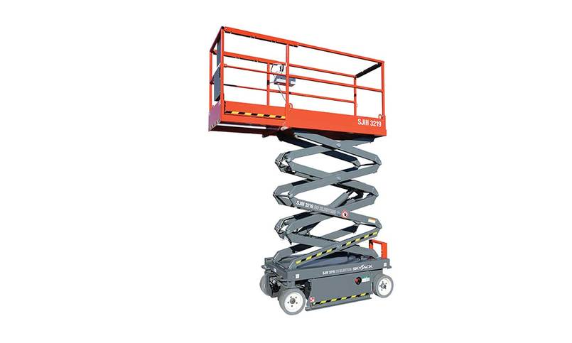Scissor Lift Model Cut Out