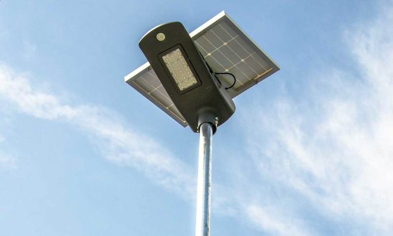 Solar Tower Light Features - Movement Sensors and Powerful LED Lights