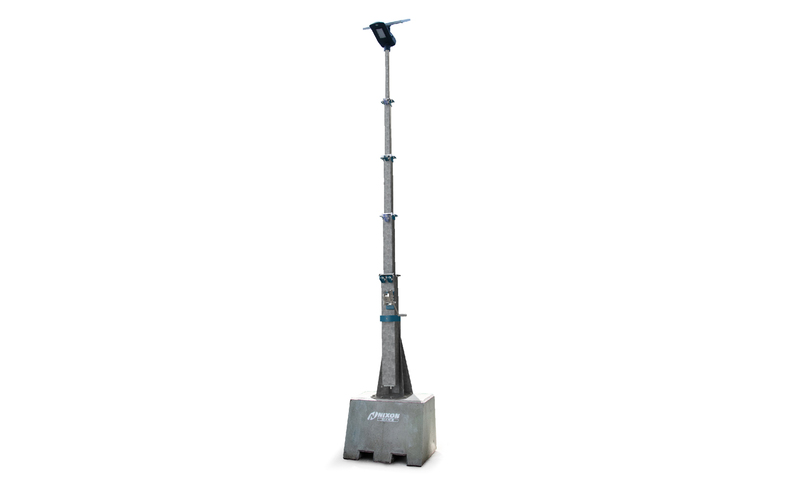 Solar Street Light With Extendable Mast Cut Out