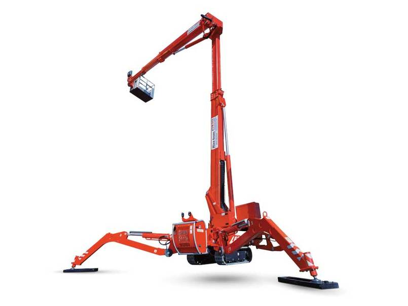 Track Mounted Boom Lift Cut Out