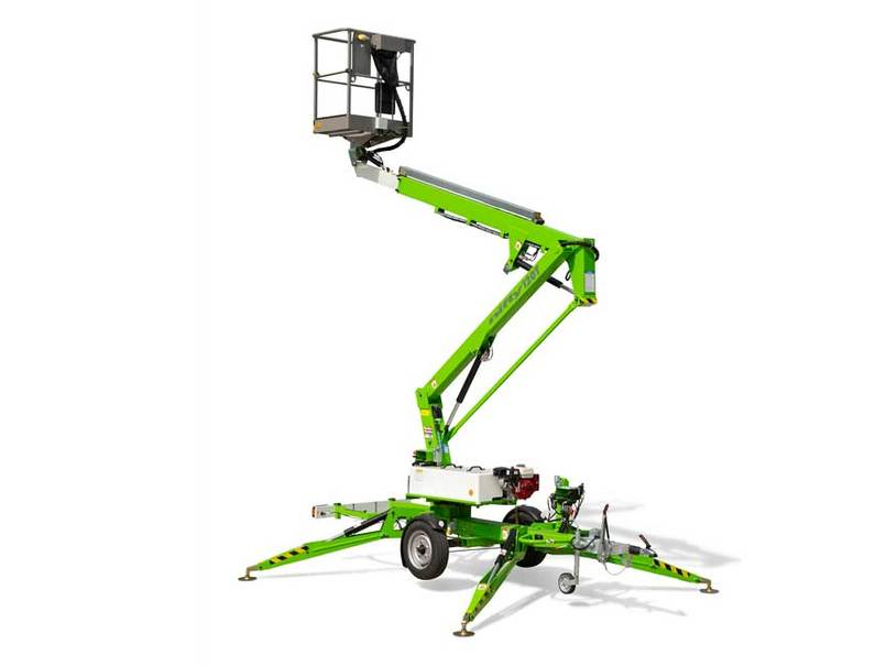 Trailer Mounted Boom Lift Cut Out