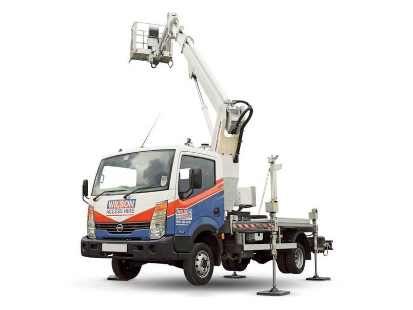 Truck Mounted Boom Lift Cut Out