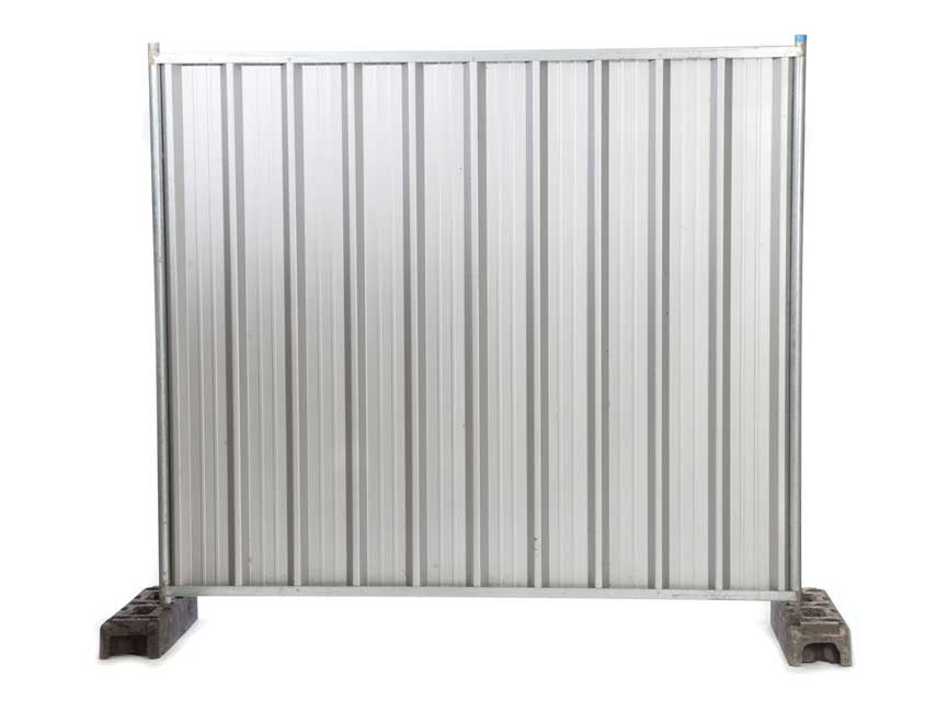 Steel Hoarding For Hire