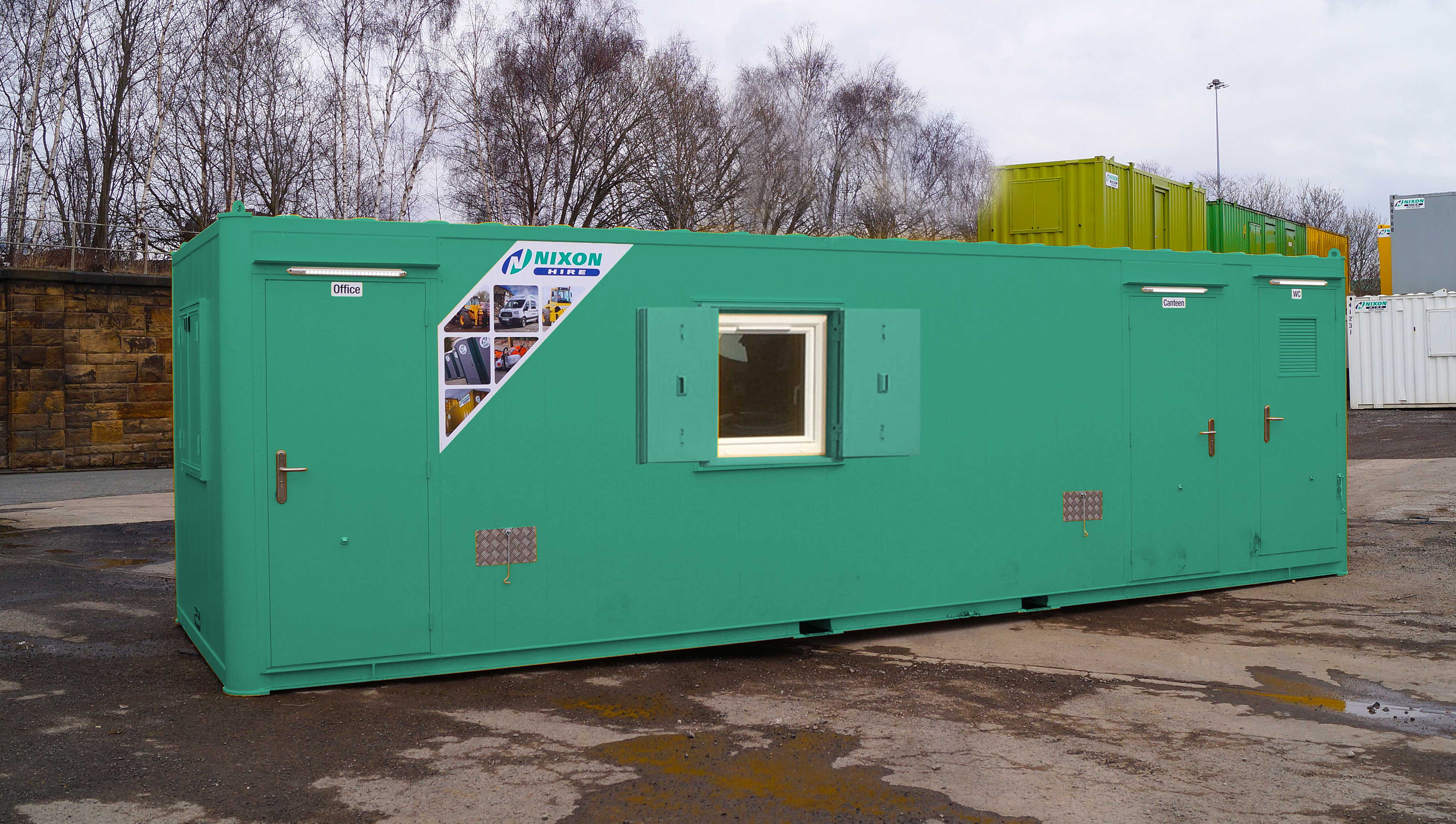 All In One Module 28 Eco Welfare Cabin