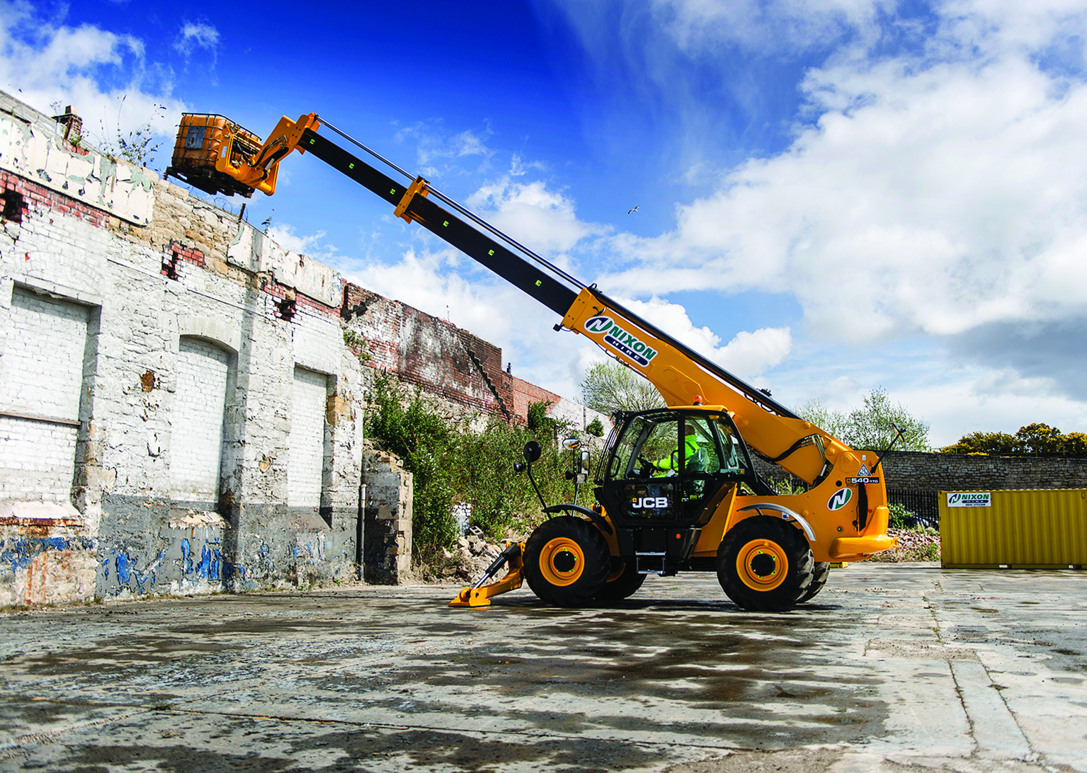 Nixon Hire Place Their Largest Ever Single Order With JCB