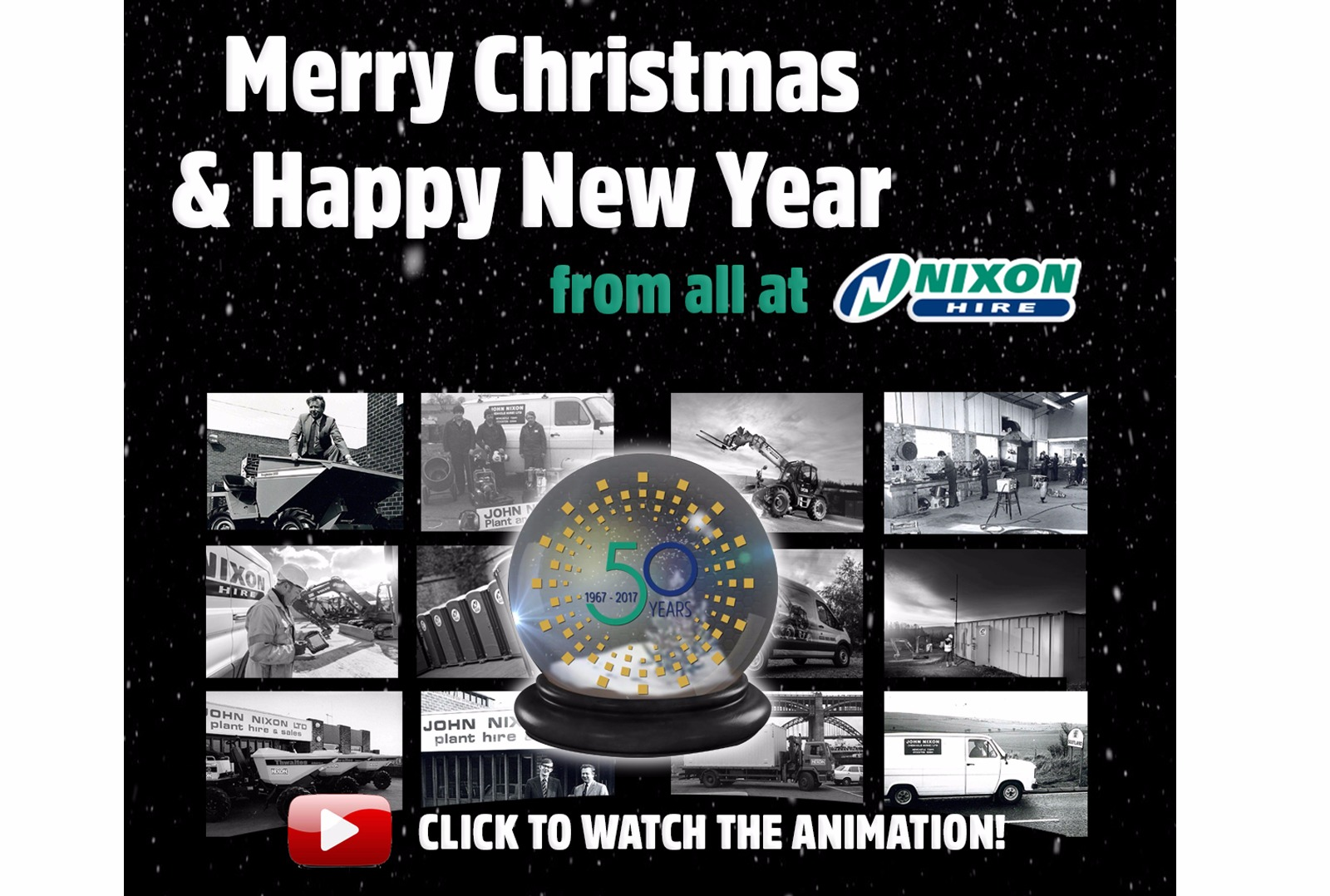 Merry Christmas & Happy New Year from all at Nixon Hire!