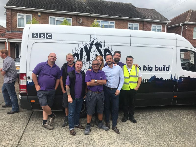 Nixon Hire Support DIY SOS