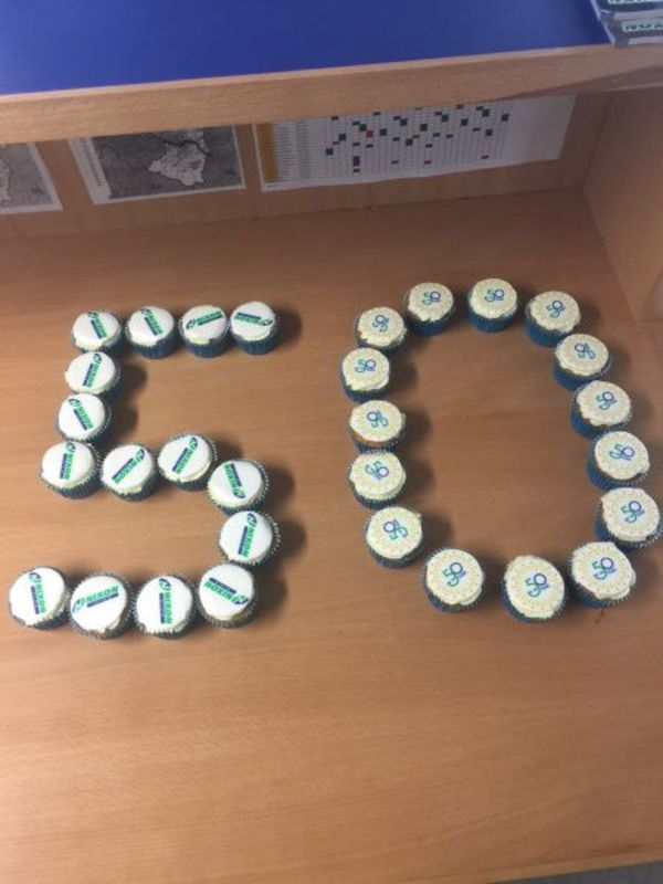 50th Cupcakes!