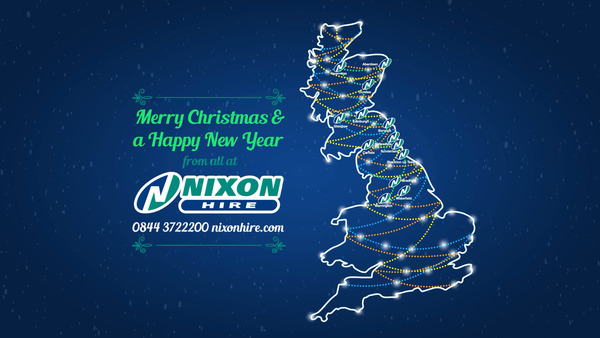 Merry Christmas from all at Nixon Hire!