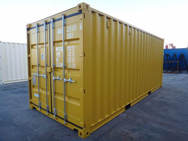 Steel containers available for sale now