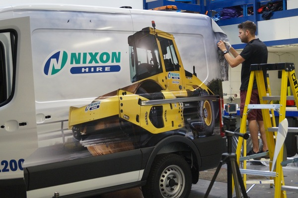 Our First Fitters Van Wrap Has Just Been Completed!