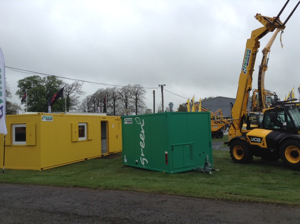 Nixon Hire exhibiting at ScotPlant 2014