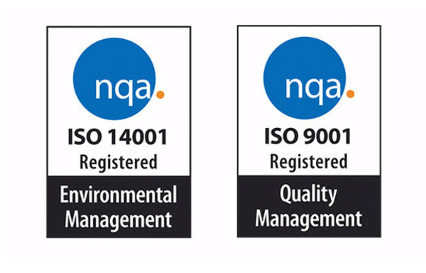 Successful Recertification To ISO9001 & ISO14001