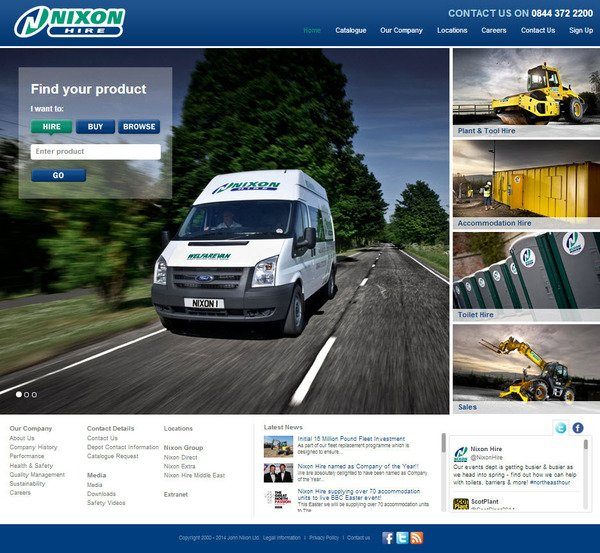 Revamped website for 2014