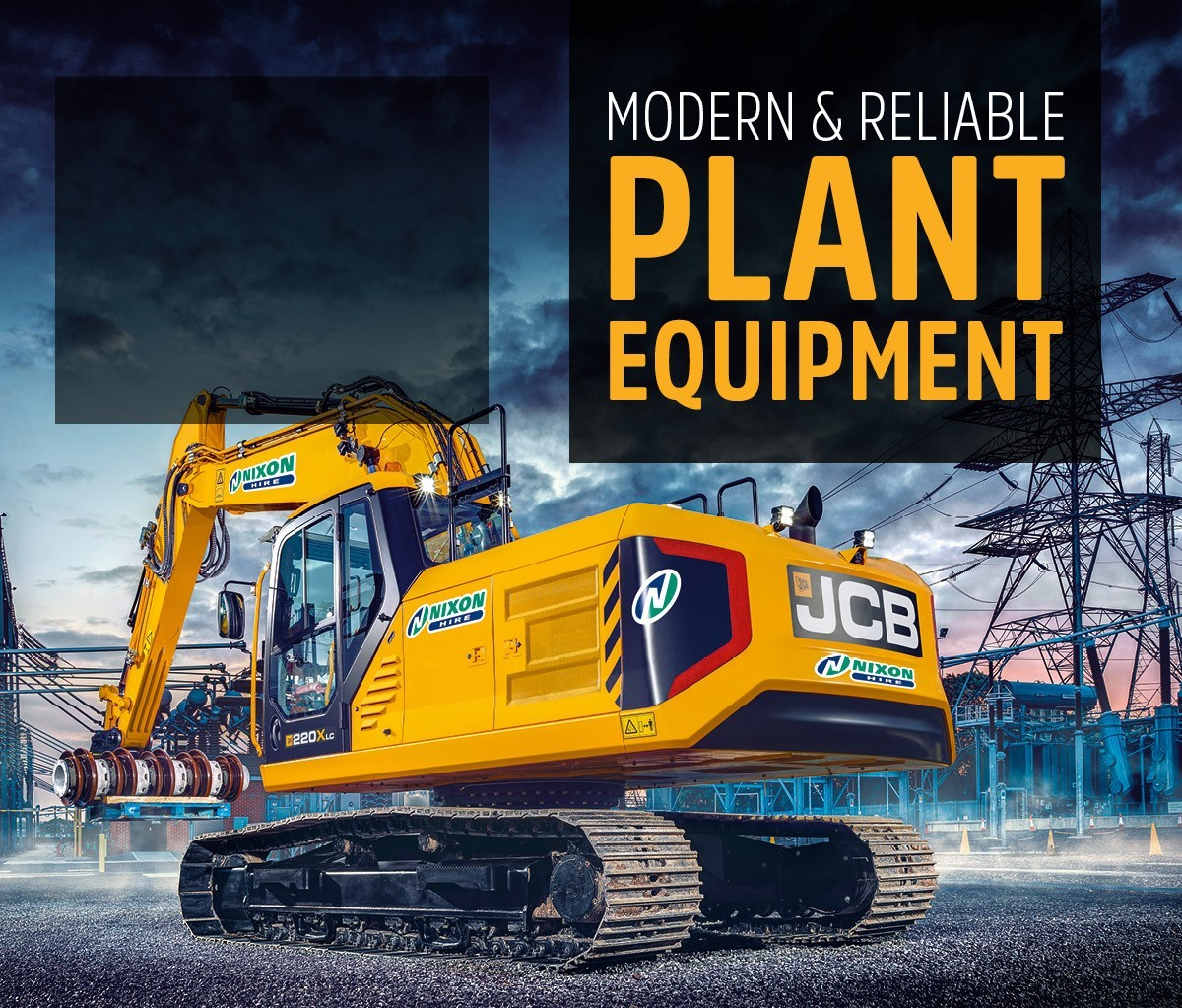 plant equipment to hire