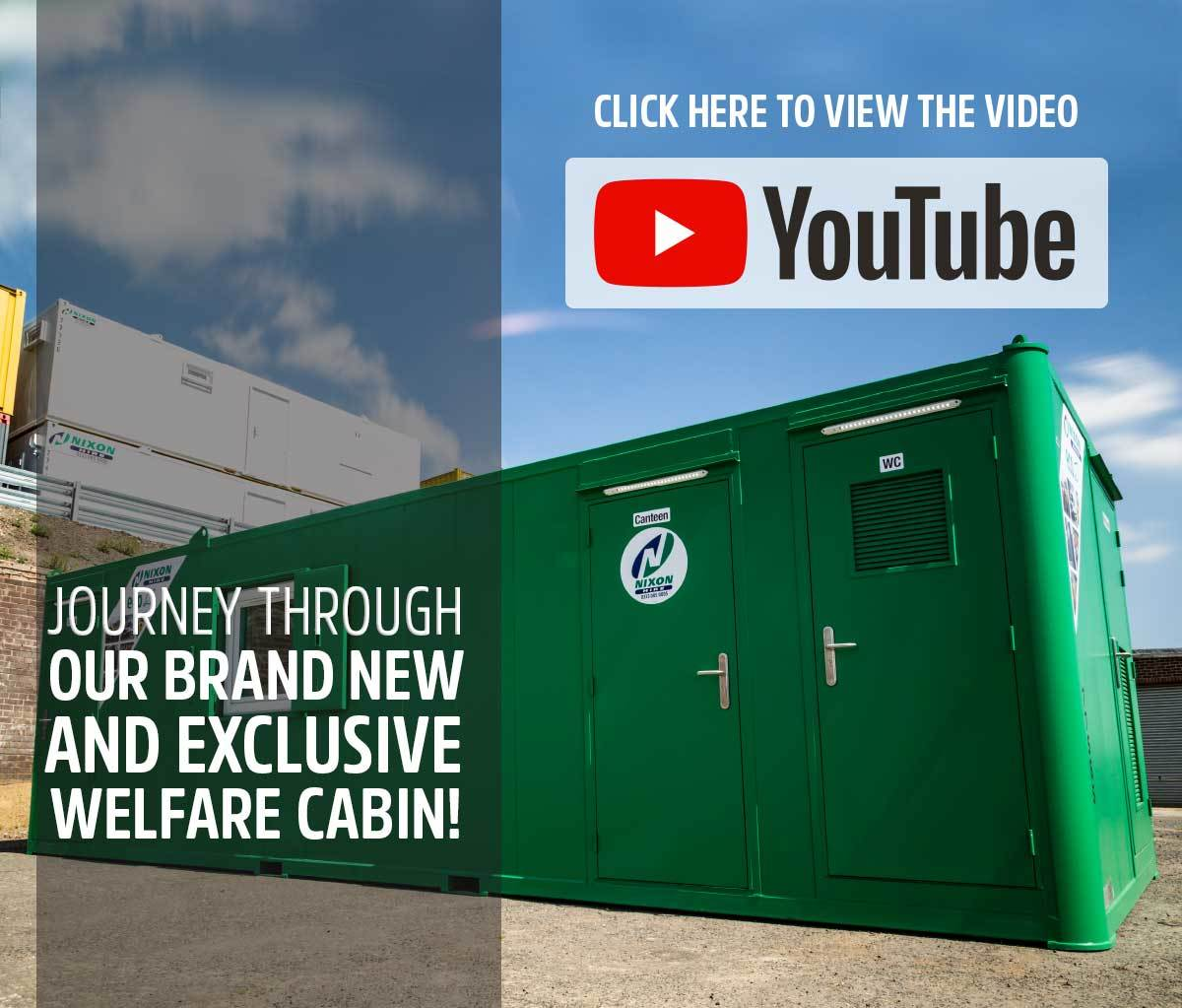 Nixon Hire's Brand New Welfare Cabin Eco 28