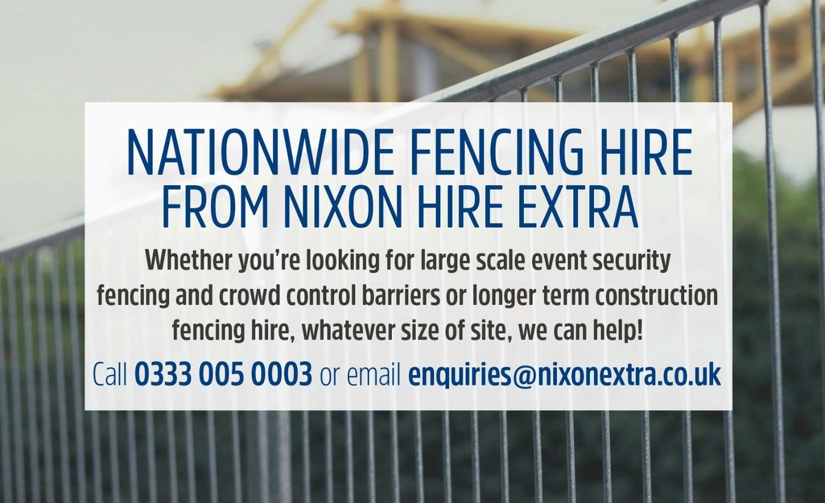 Affordable Fencing & Barrier Hire From Nixon Hire Extra. Temporary Fencing, Crowd Control Barriers, Steel Hoarding & Acoustic Barriers. Get A Quote Today!
