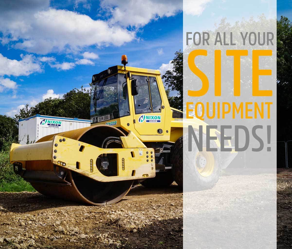 plant, accommodation, site equipment