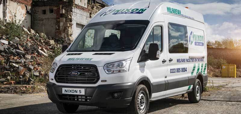 Welfare Cabin & Welfare Van Hire